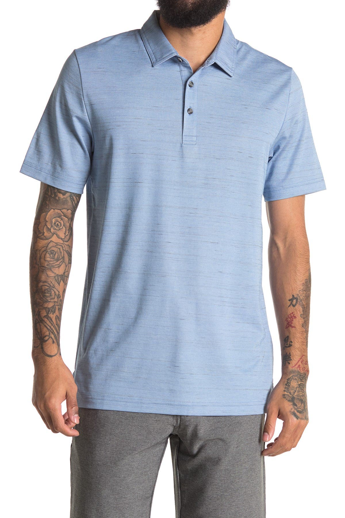 Image of TRAVIS MATHEW Tender Hooligan Short Sleeve Polo