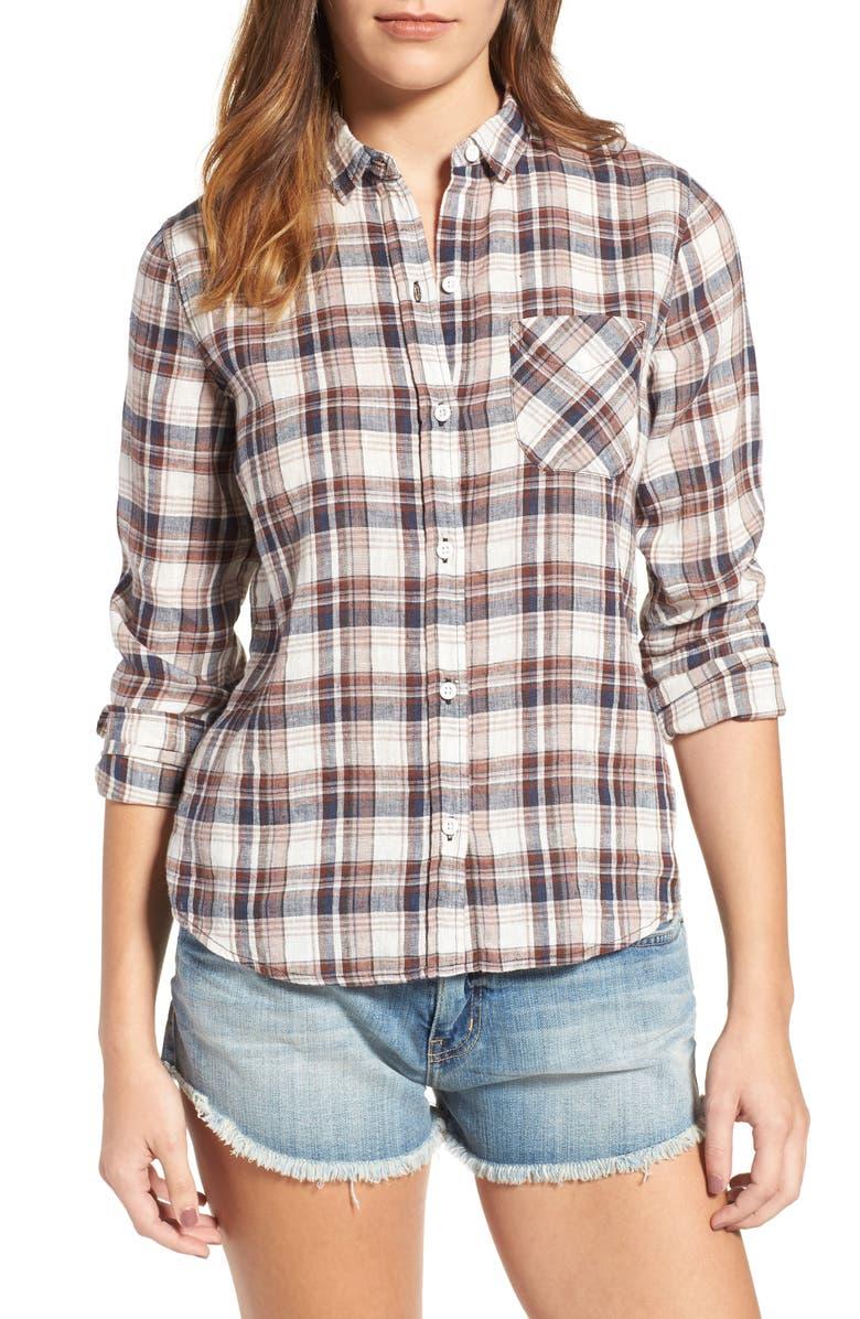 CURRENT/ELLIOTT The Slim Boy Shirt, Main, color, 148
