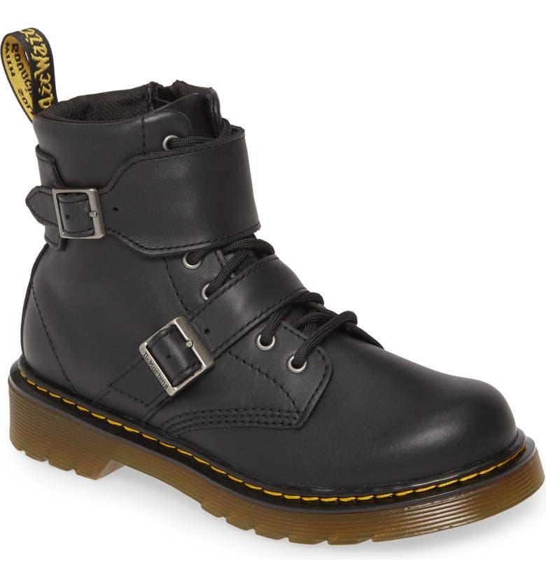 DR. MARTENS 1460 Joska Boot, Main, color, BLACK