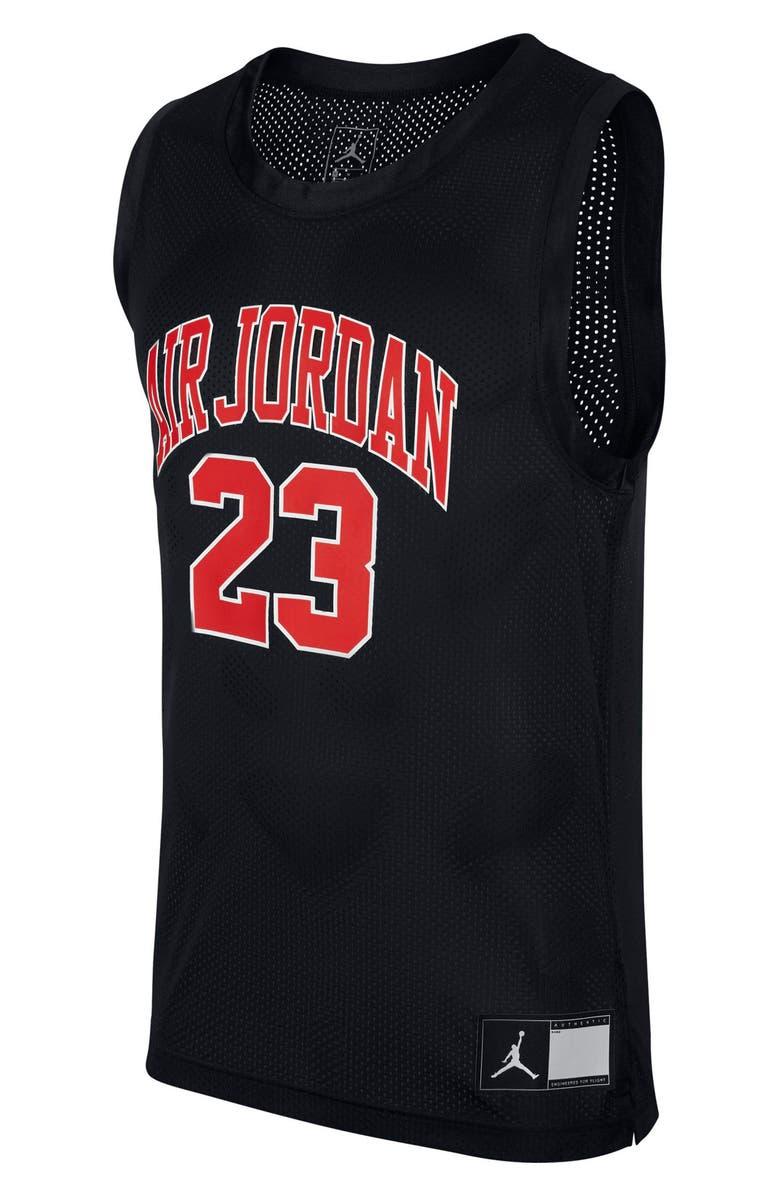 JORDAN Dri-FIT DNA Distorted Sleeveless Mesh T-Shirt, Main, color, 010