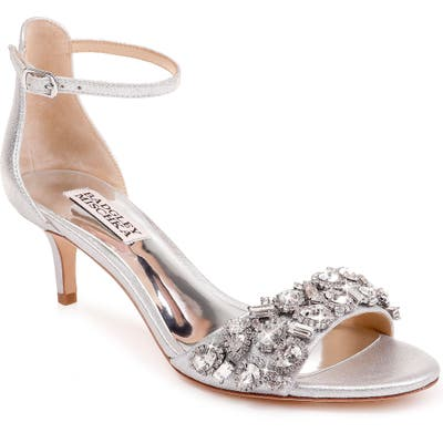 Badgley Mischka Lara Crystal Embellished Sandal