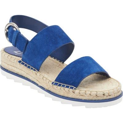 Marc Fisher Ltd Phebe 2 Espadrille Sandal, Blue
