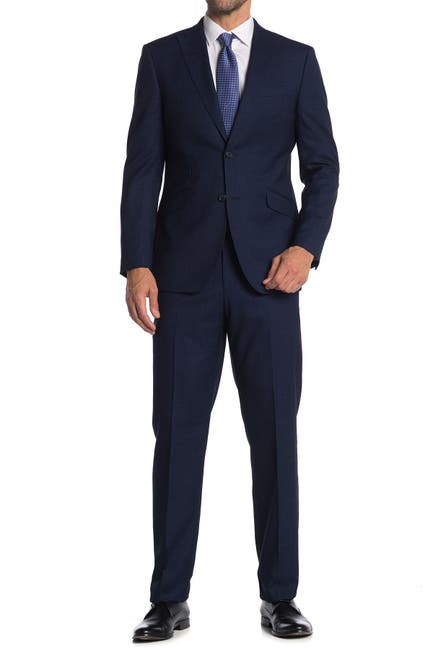 Image of English Laundry Twill Two Button Notch Collar Suit