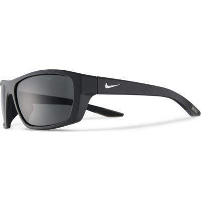 Nike Brazen Boost Polarized Wraparound Sunglasses - Anthrcte/ Polar Grey