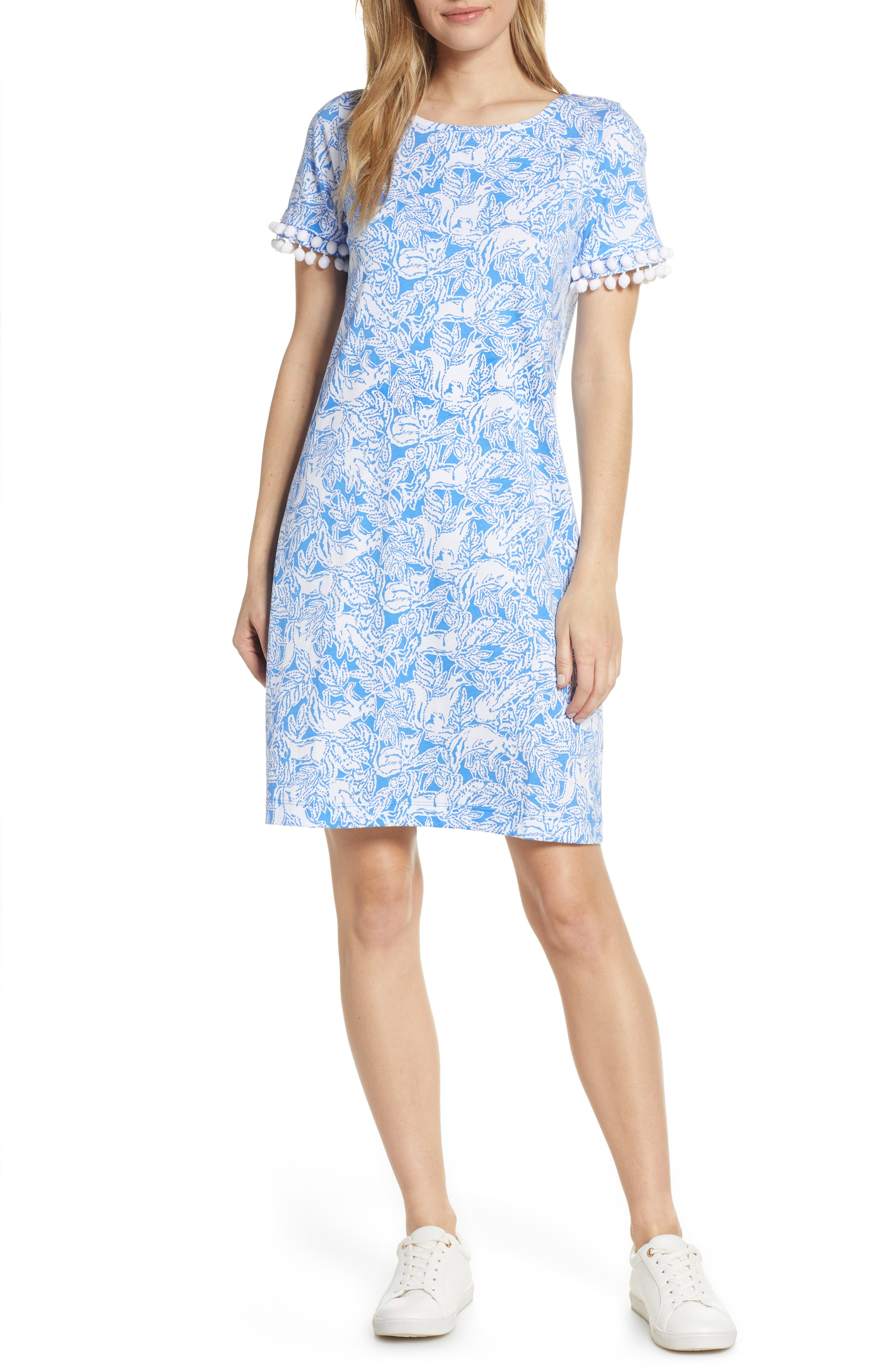 Lilly Pulitzer Lissie Shift Dress, Blue