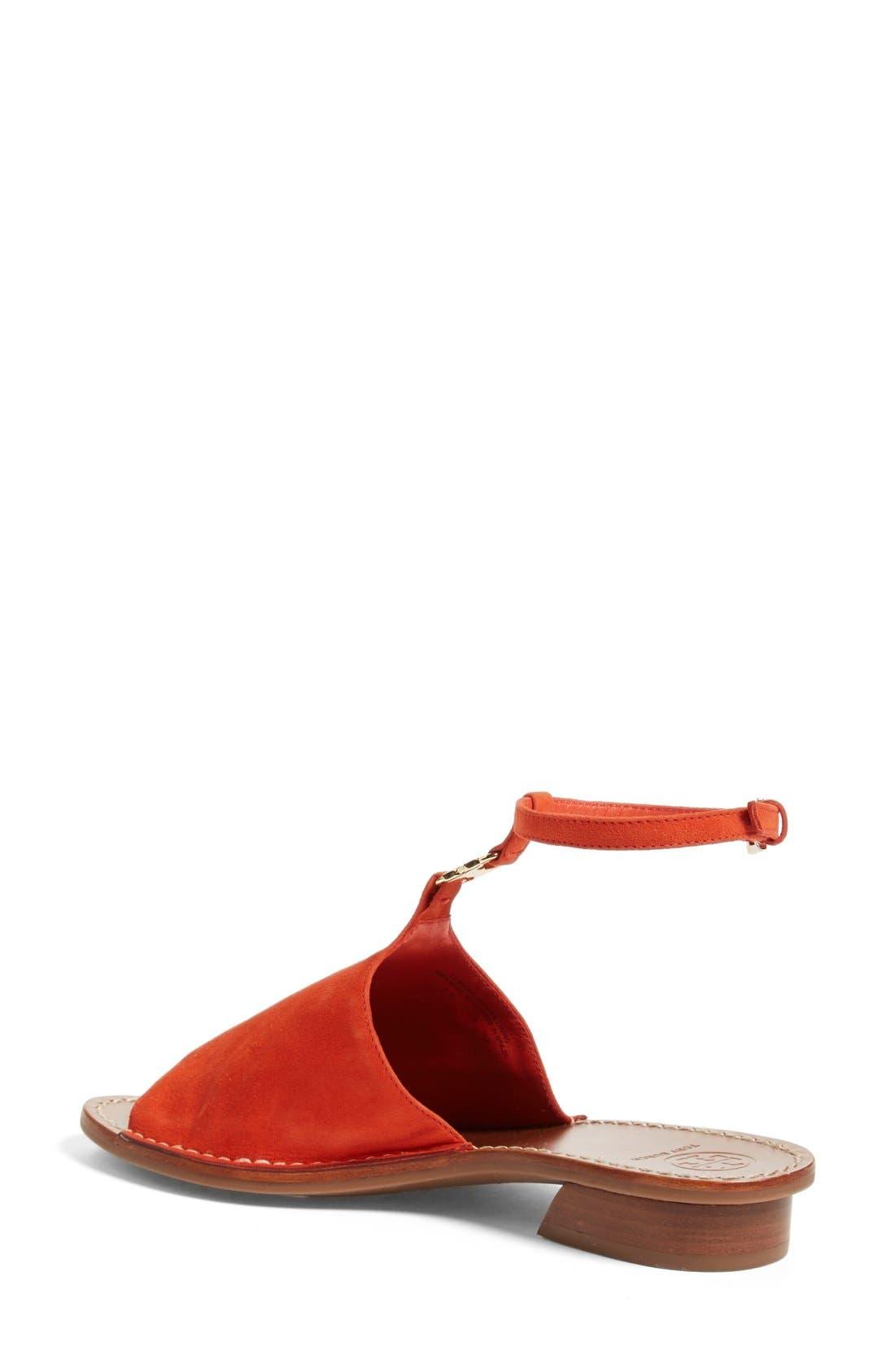 ,                             'Gemini Link' Ankle Strap Sandal,                             Alternate thumbnail 9, color,                             615