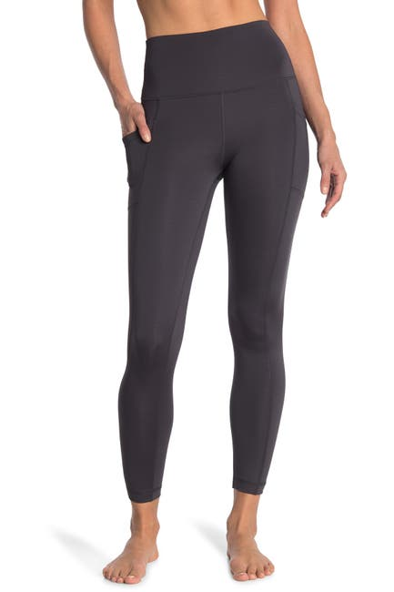 Image of 90 Degree By Reflex Airlink Elastic-Free High-Rise Leggings