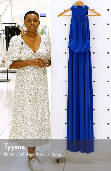 High Neck Maxi Dress, sales video thumbnail