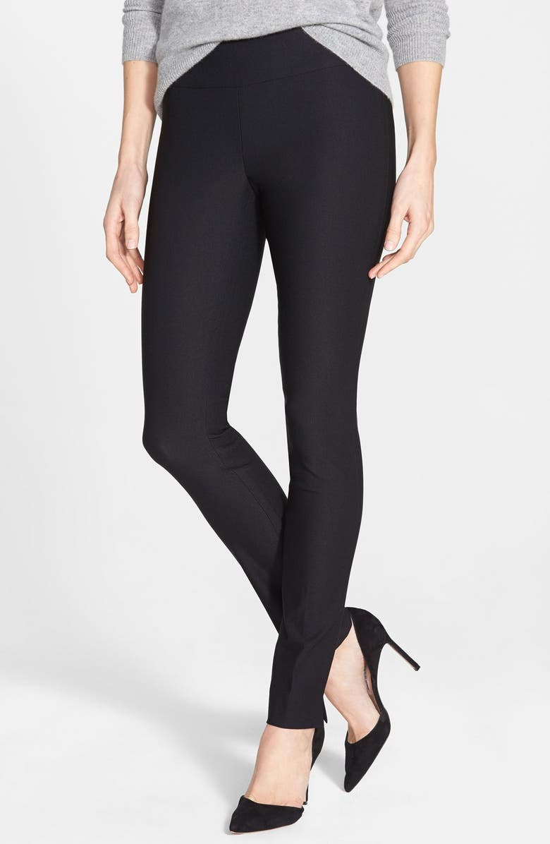 NIC+ZOE Wonderstretch Slim Leg Pants, Main, color, BLACK ONYX