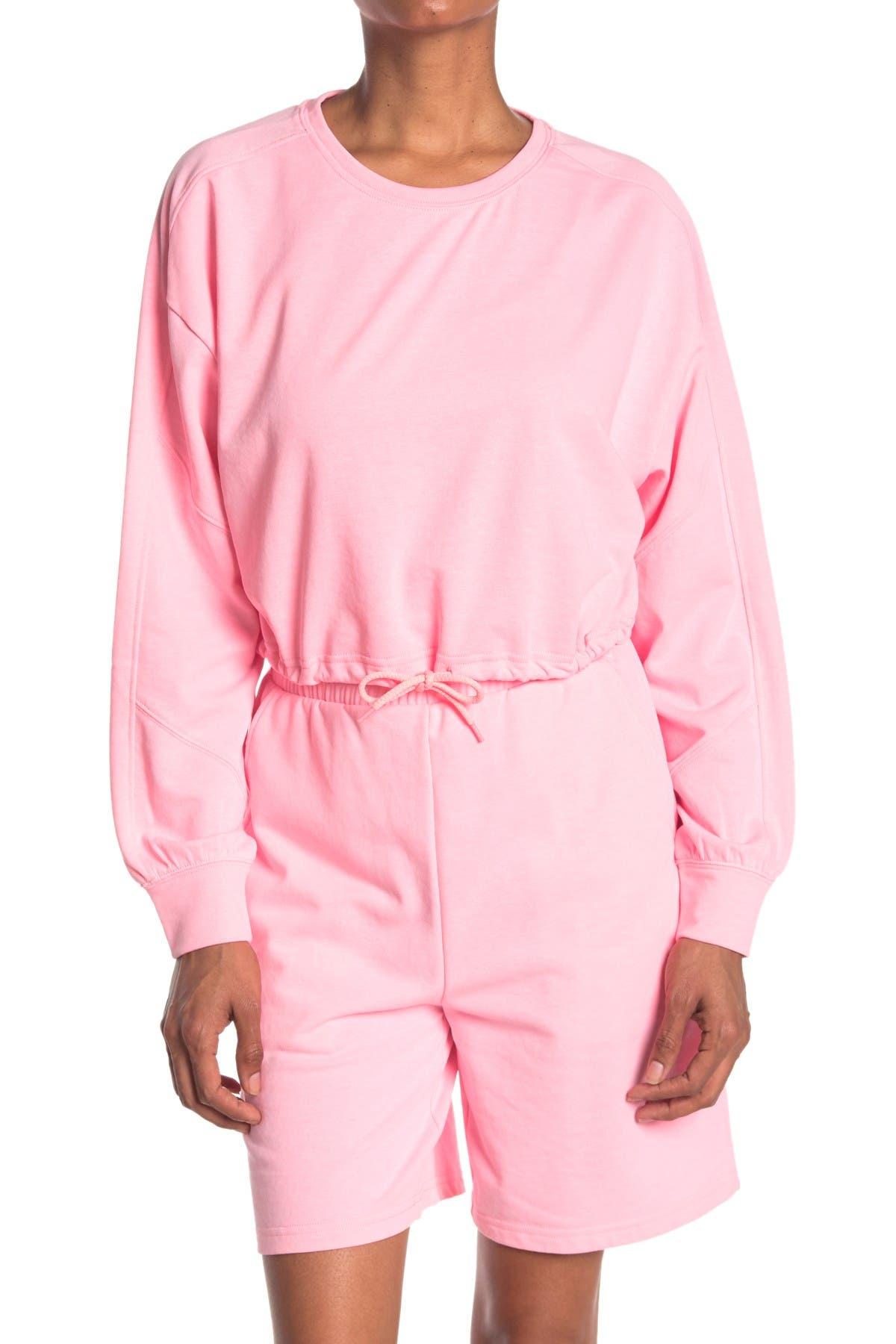 Image of Elodie Drawstring Sweatshirt