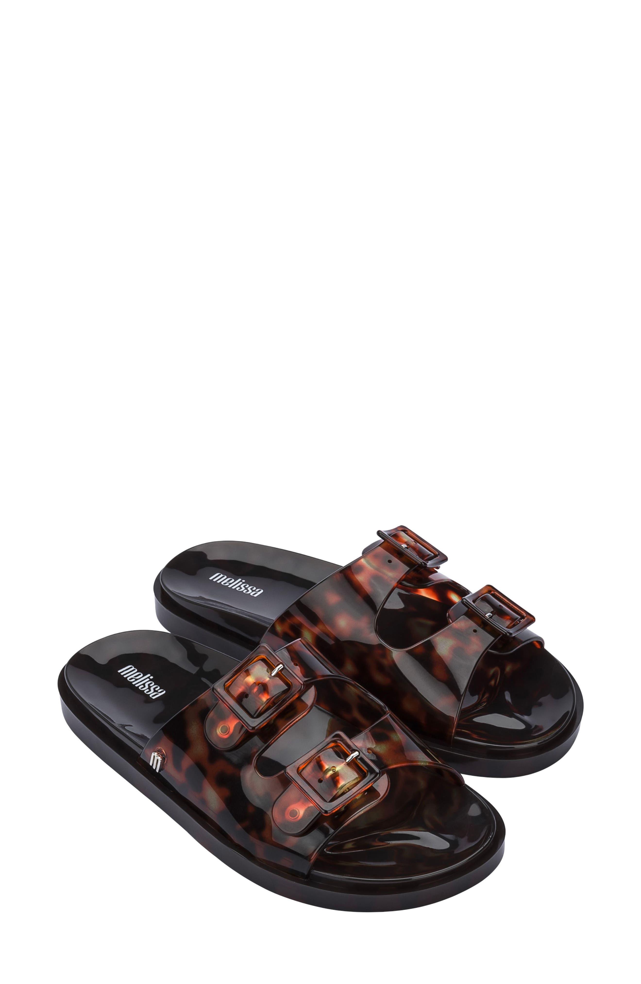 Double Strap Slide Sandal