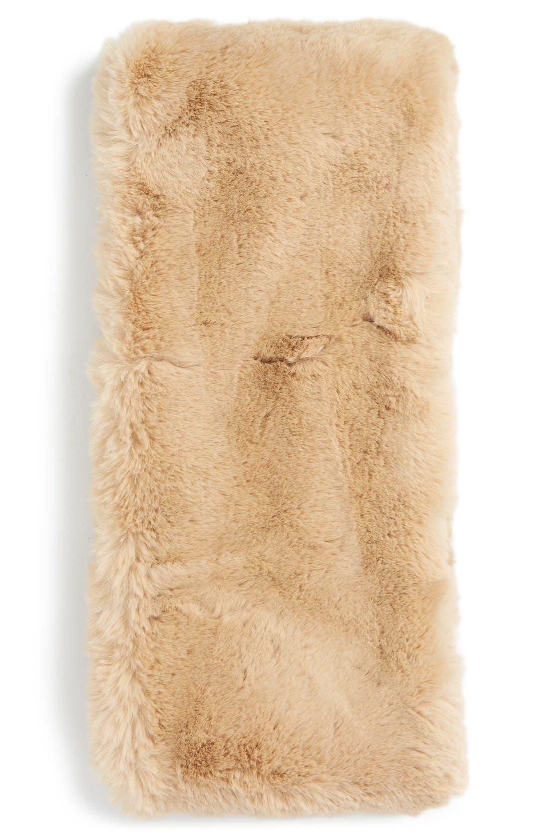 ,                             Faux Rabbit Fur Snood,                             Alternate thumbnail 6, color,                             235