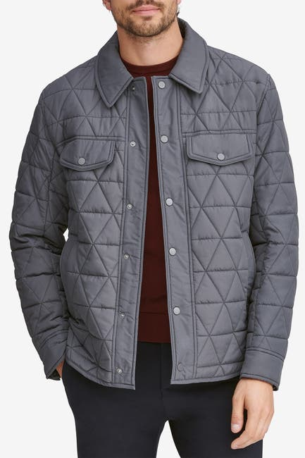 Image of Andrew Marc Medford Water Resistant Shirt Jacket