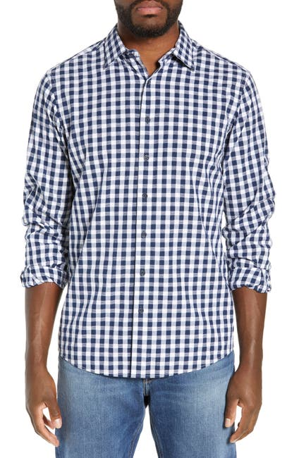 Image of RODD AND GUNN Dixon Check Sport Shirt