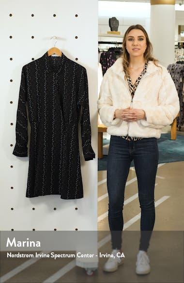 Harmon Long Sleeve Shirtdress, sales video thumbnail
