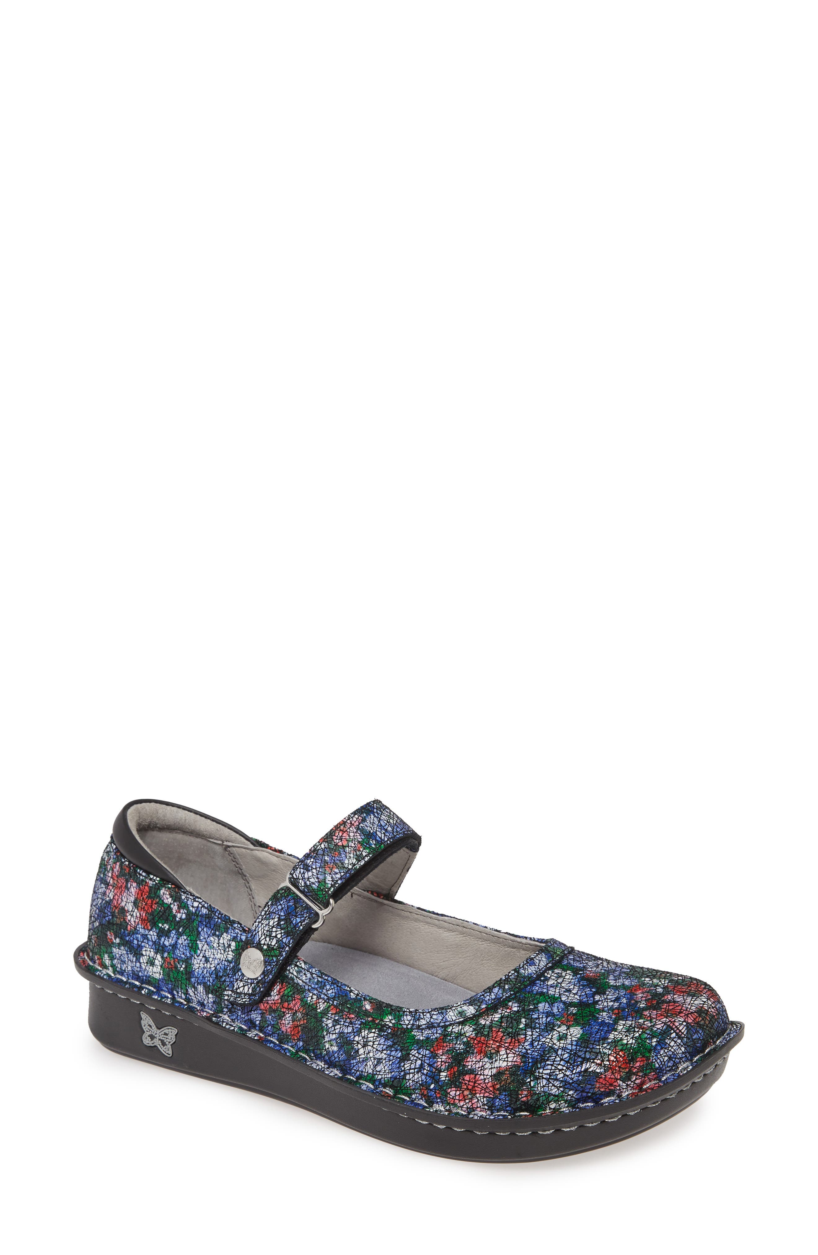 A lightweight rocker platform perfects the all-day ease of a feminine slip-on designed with plenty of plush, memory-foam cushioning. Style Name: Alegria \\\'Belle\\\' Slip-On. Style Number: 577037. Available in stores.
