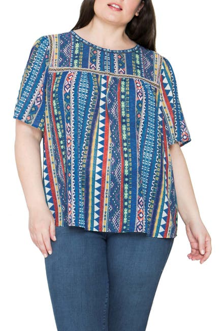 Image of Flying Tomato Printed Round Neck Top