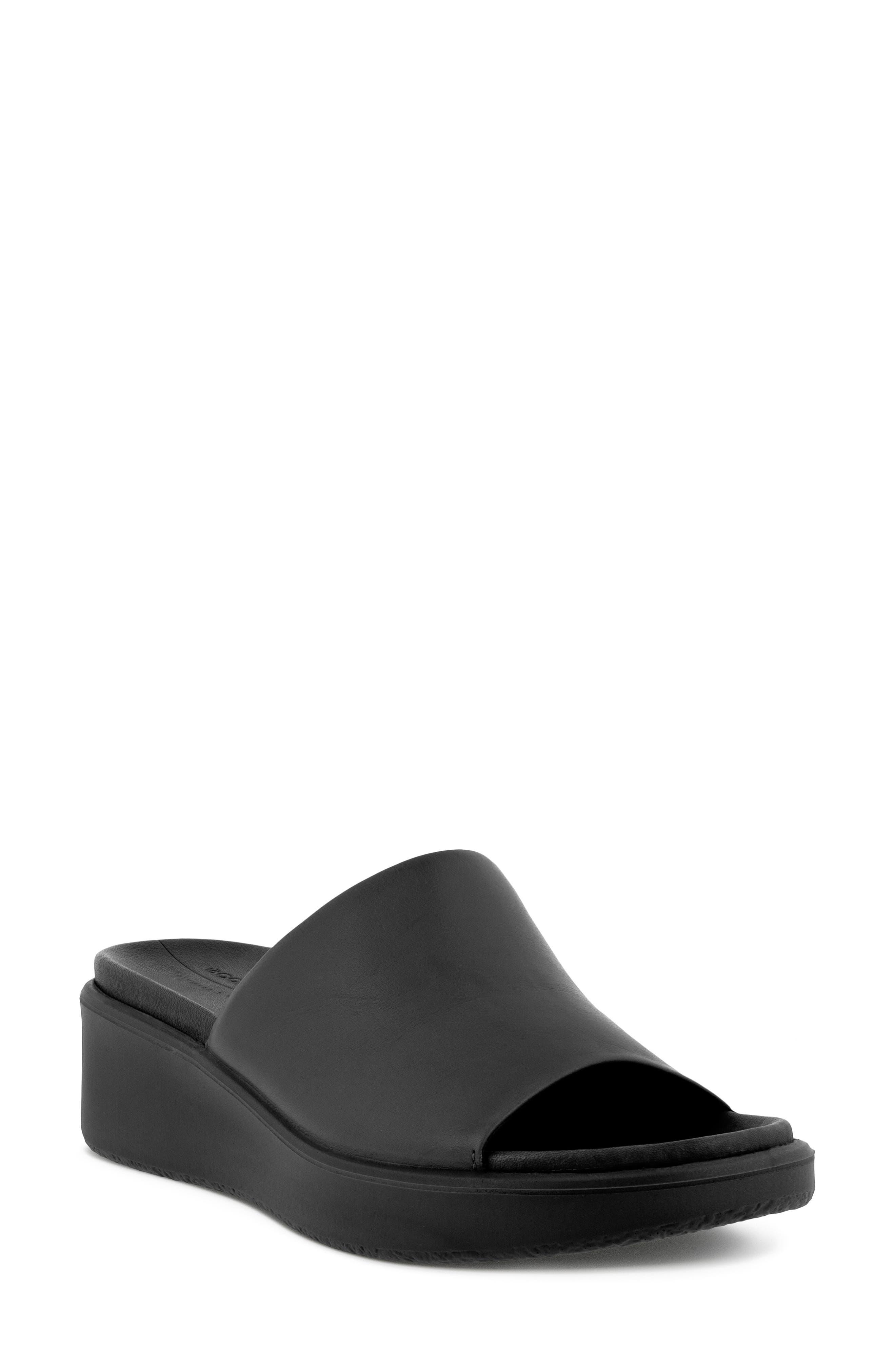 Women's Ecco Flowt Wedge Slide Sandal