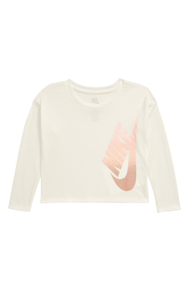 NIKE Futura Fem Boxy Tee, Main, color, SAIL