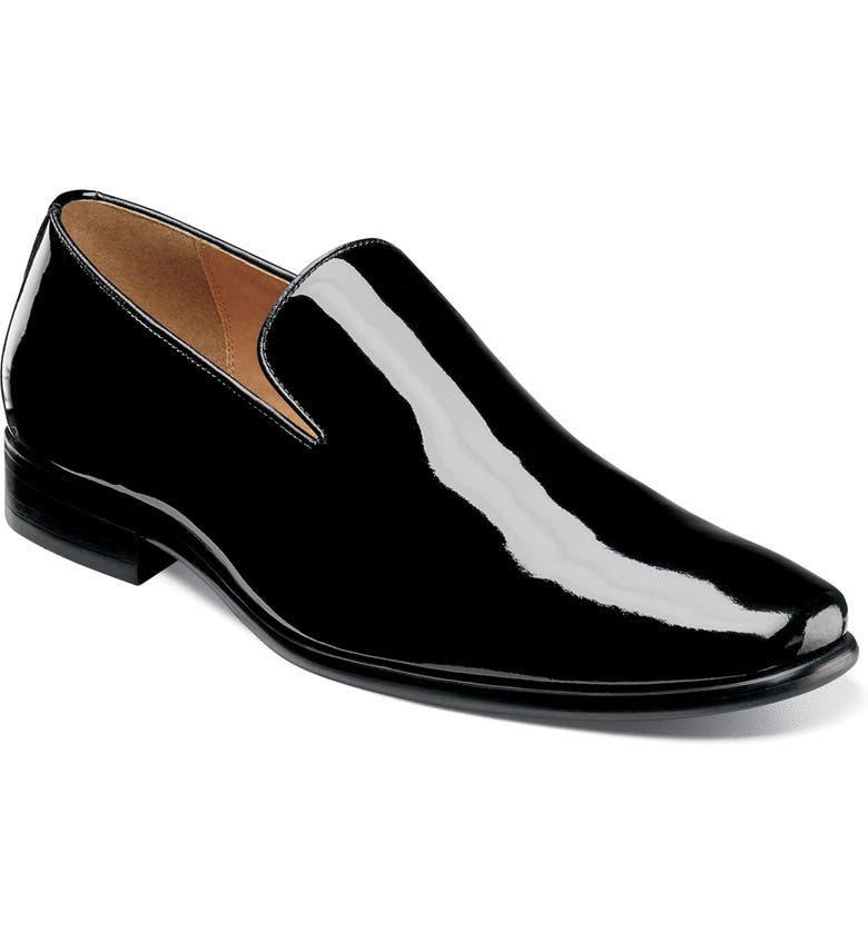 FLORSHEIM Postino Venetian Loafer, Main, color, BLACK PATENT