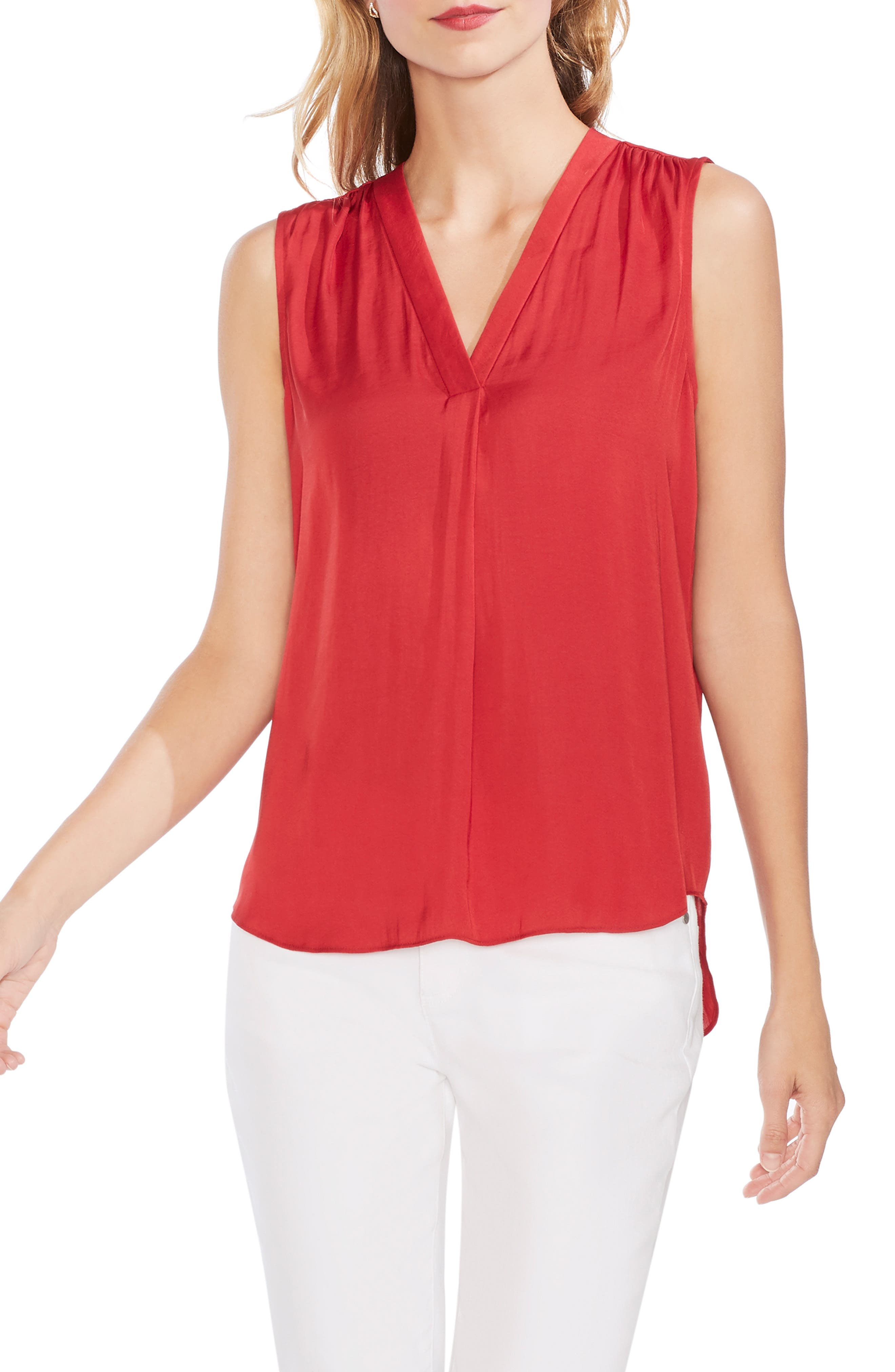 ,                             Rumpled Satin Blouse,                             Main thumbnail 59, color,                             643