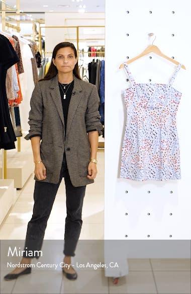 Frances Print Stretch Cotton Sundress, sales video thumbnail