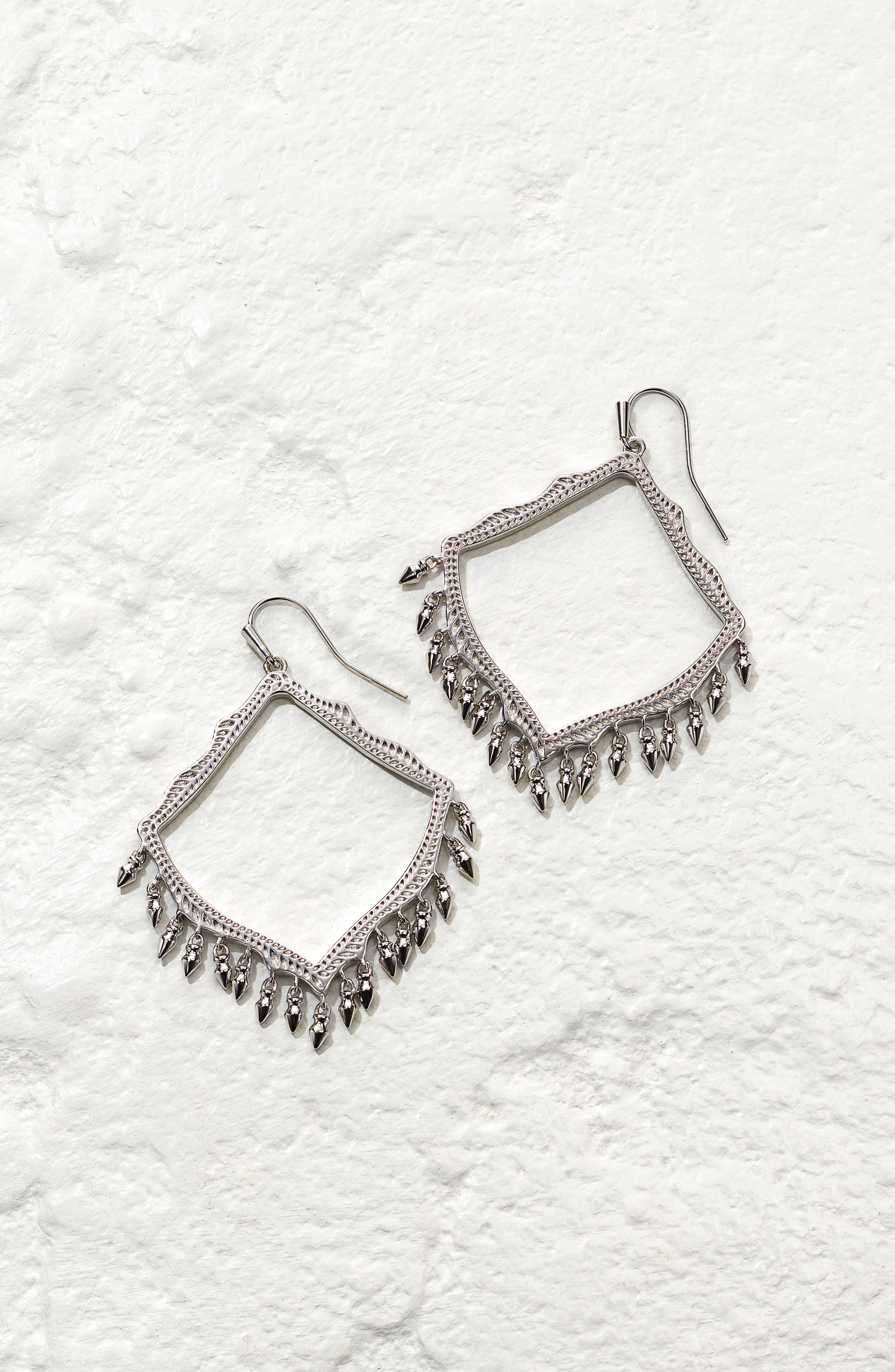 ,                             Lacy Drop Earrings,                             Alternate thumbnail 3, color,                             040