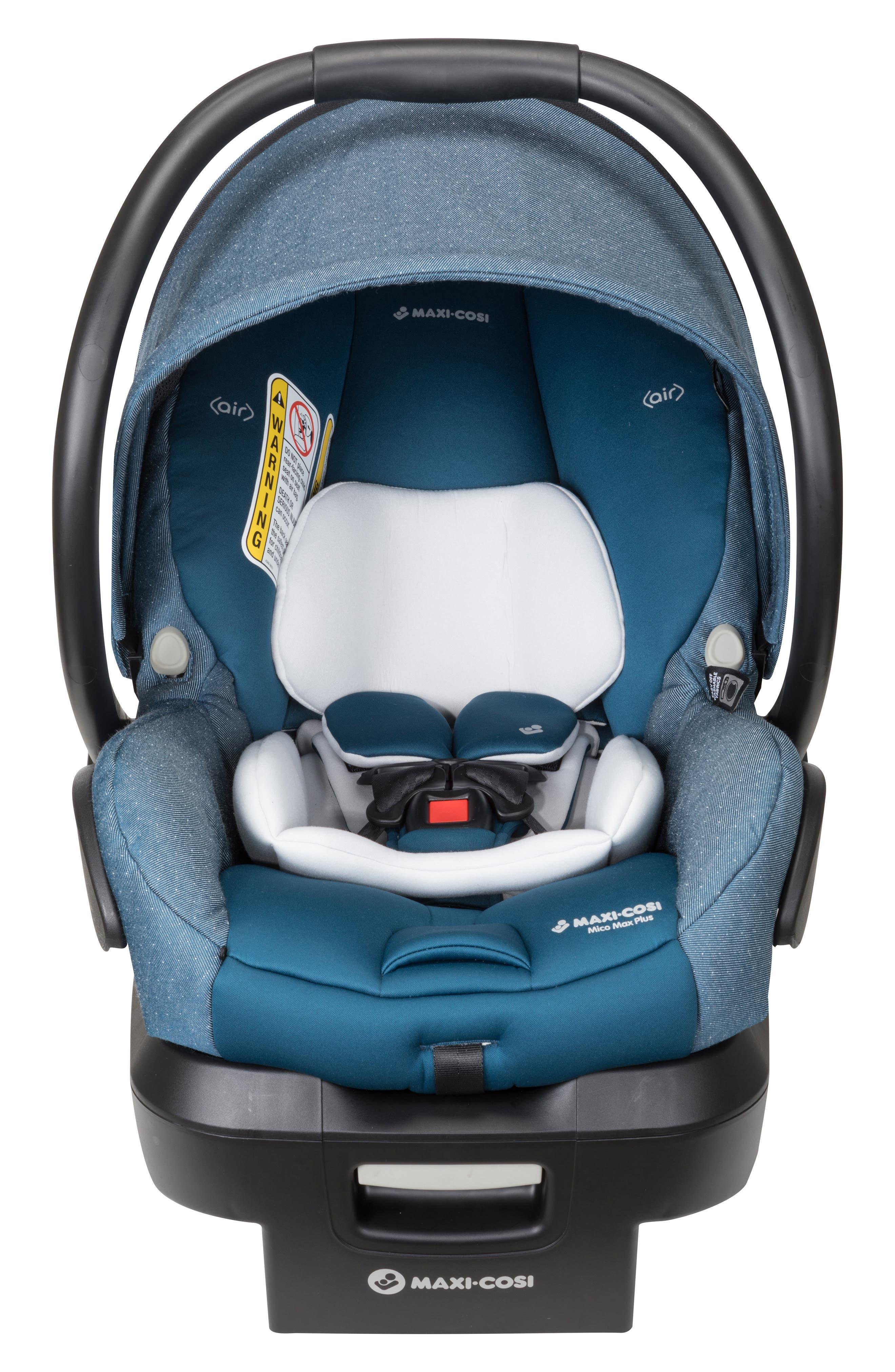 Infant MaxiCosi Mico Max Plus Infant Car Seat Size One Size  Bluegreen