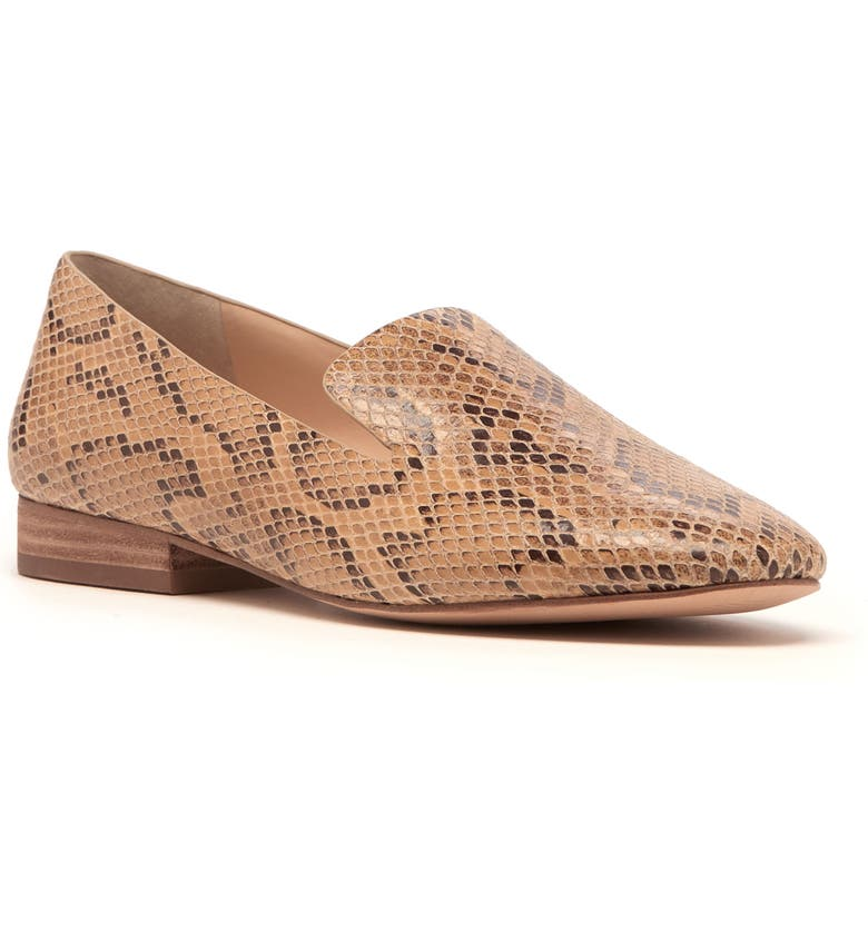 SOLE SOCIETY Takina Loafer, Main, color, BEIGE LEATHER