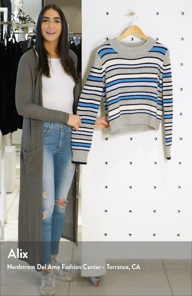 Mini Marin Stripe Wool & Cashmere Sweater, sales video thumbnail