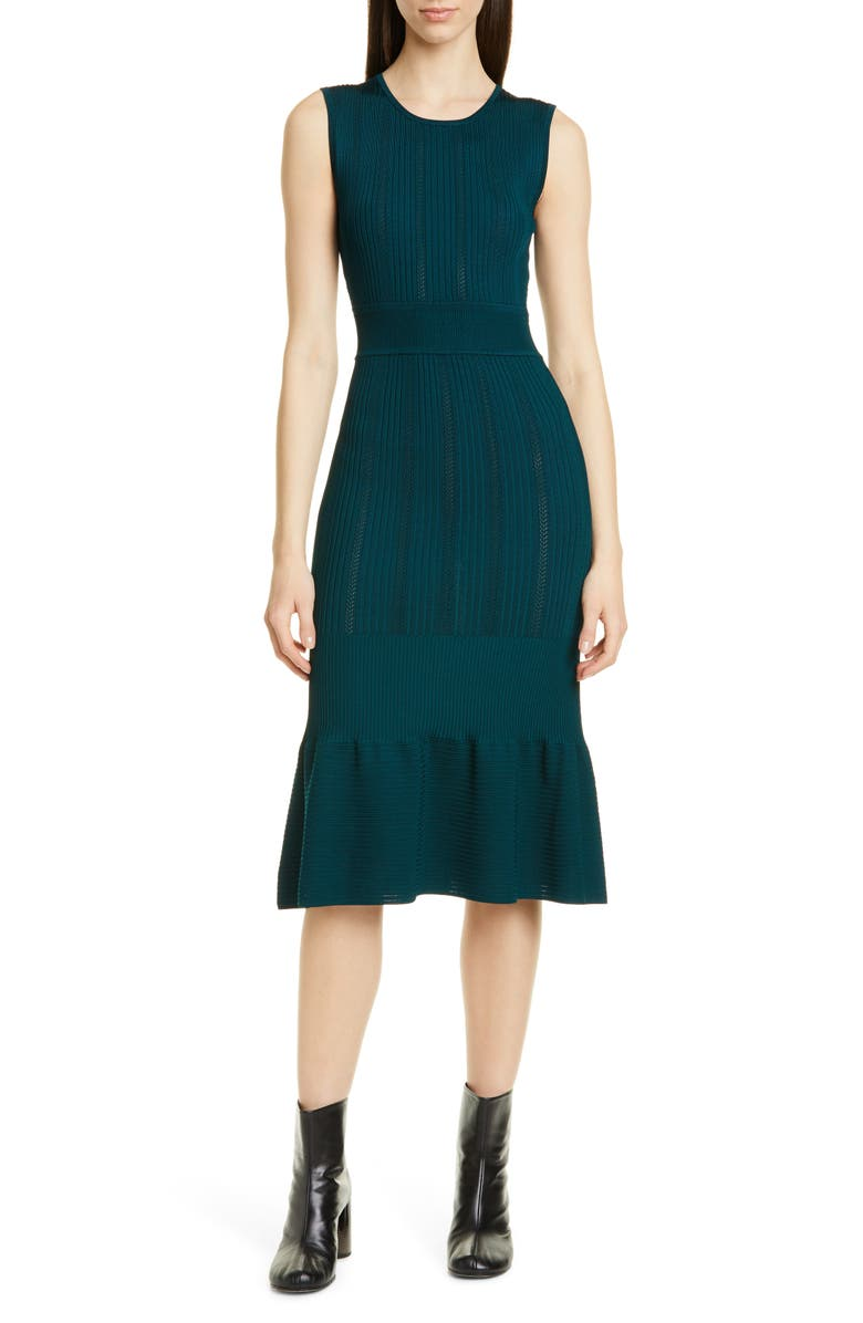 JASON WU Pointelle Sweater Dress, Main, color, 310