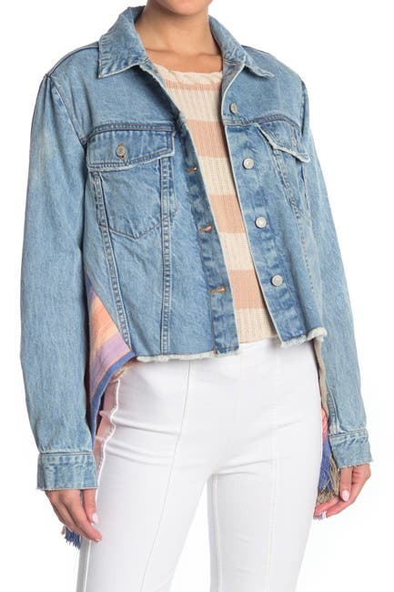 Image of Free People In the Sun Denim Swing Jacket