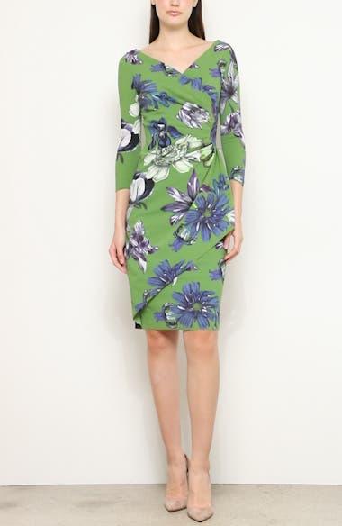 Charisse Floral Print Cocktail Dress, video thumbnail
