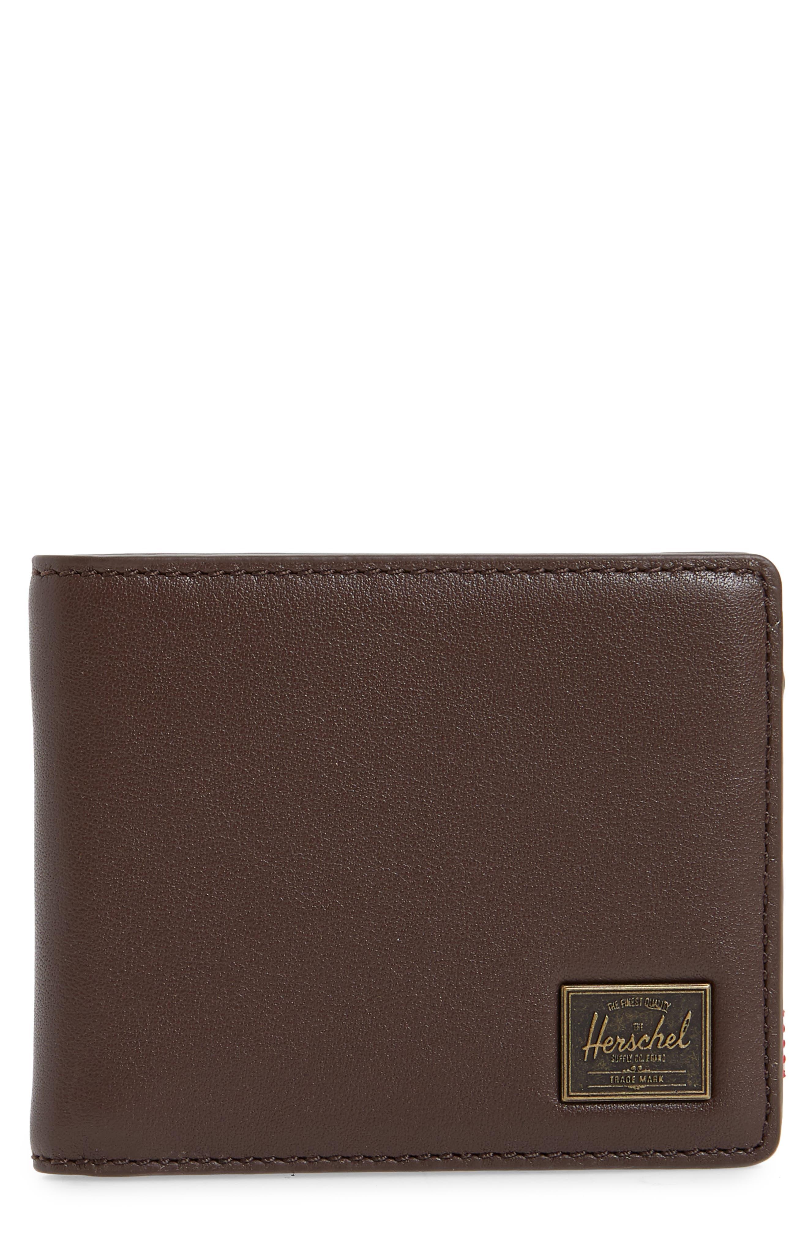 Hank Rfid Leather Wallet