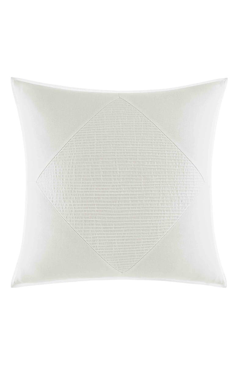NAUTICA Bronwell Pieced Accent Pillow, Main, color, IVORY
