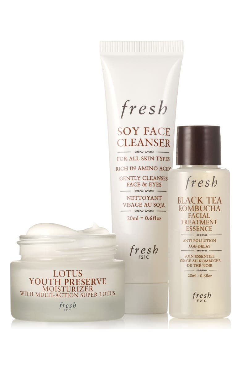 FRESH<SUP>®</SUP> Skin Care Favorites Travel Size Set, Main, color, NO COLOR