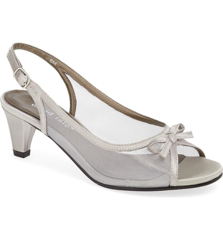 DAVID TATE 'Prom' Slingback Sandal, Main, color, 040