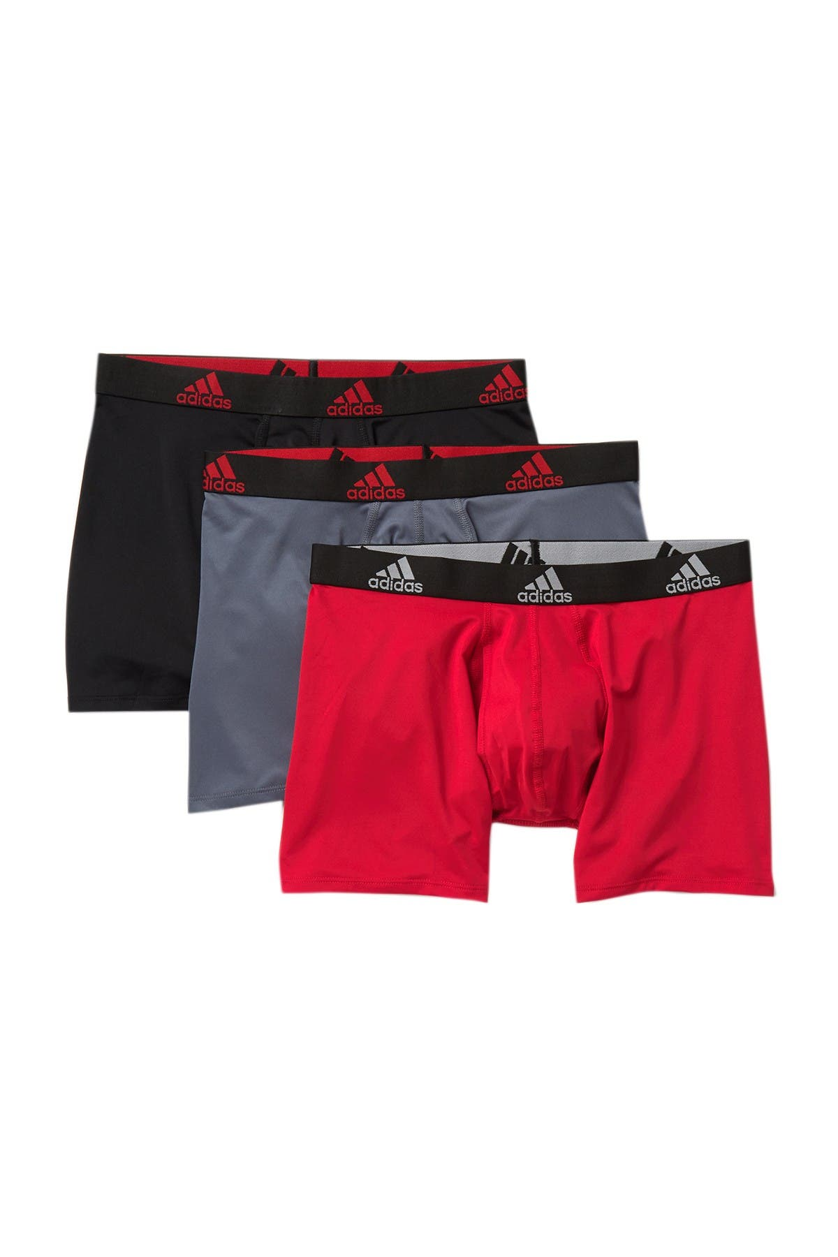 Image of adidas Climalite Boxer Briefs - Pack of 3