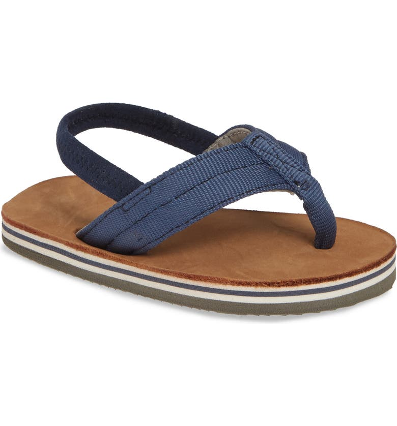HARI MARI Scouts Thong Sandal, Main, color, INDIGO/ TAN