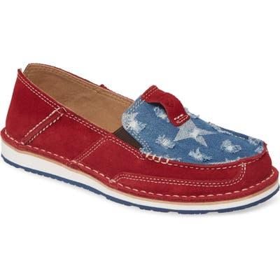 Ariat Cruiser Slip-On Loafer- Red