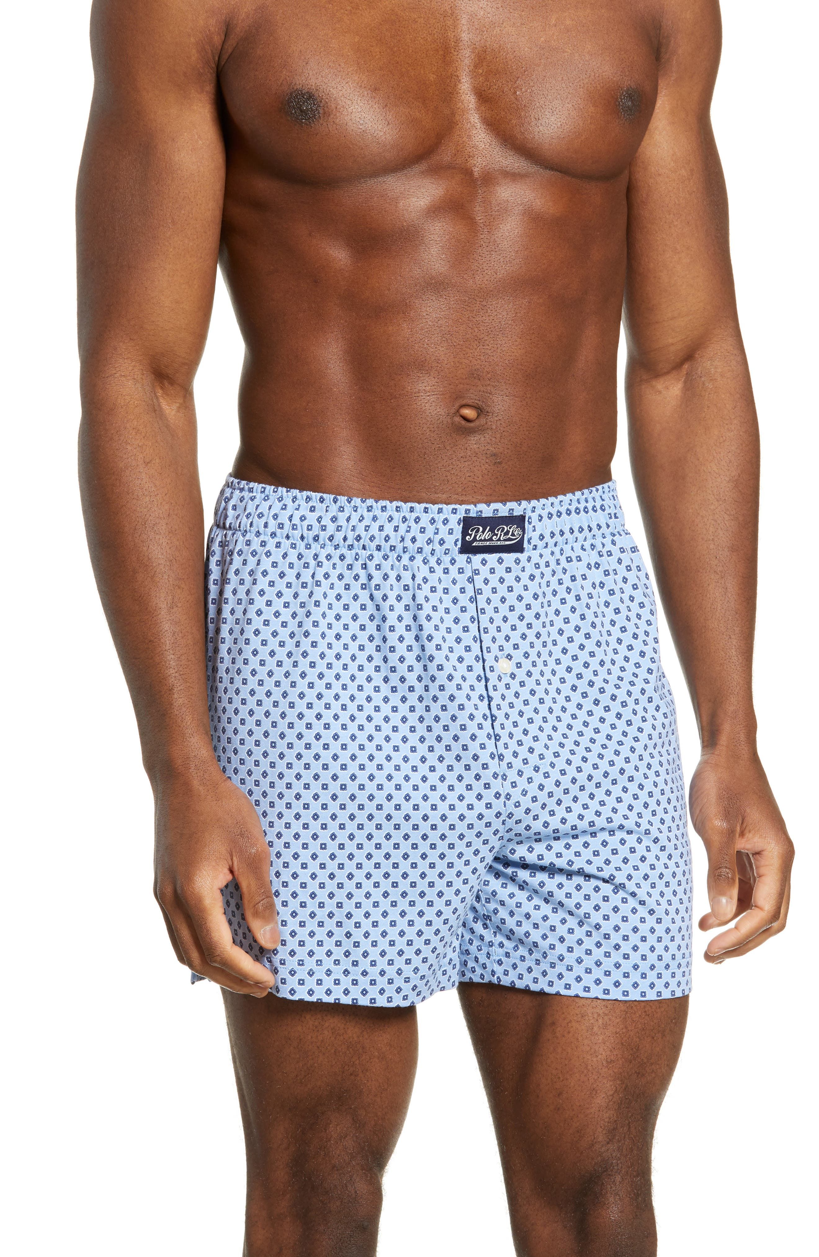 Image of Polo Ralph Lauren Printed Knit Boxers