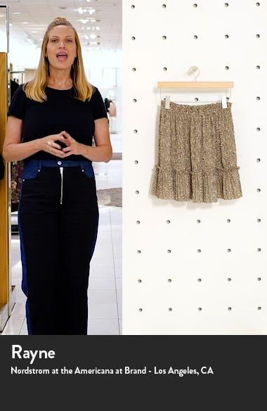 Crystal Animal Print Miniskirt, sales video thumbnail