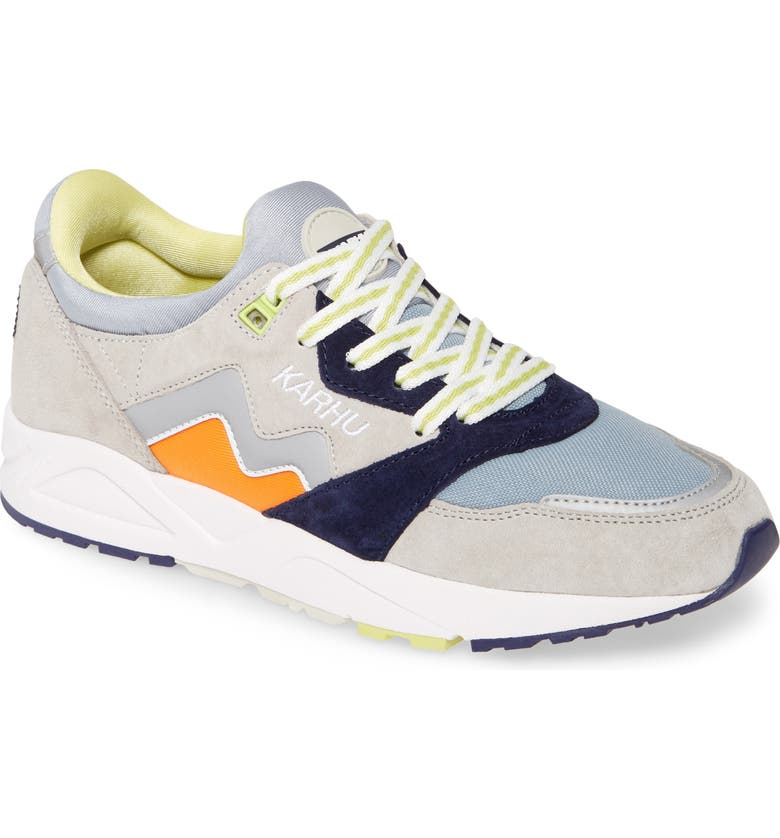 KARHU Aria Sneaker, Main, color, GLACIER GRAY/ AUTUMN GLORY
