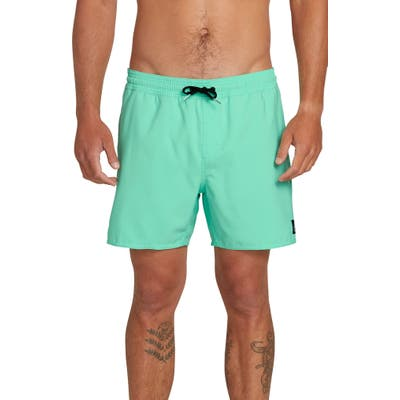 Volcom Lido Volley Swim Shorts, Green