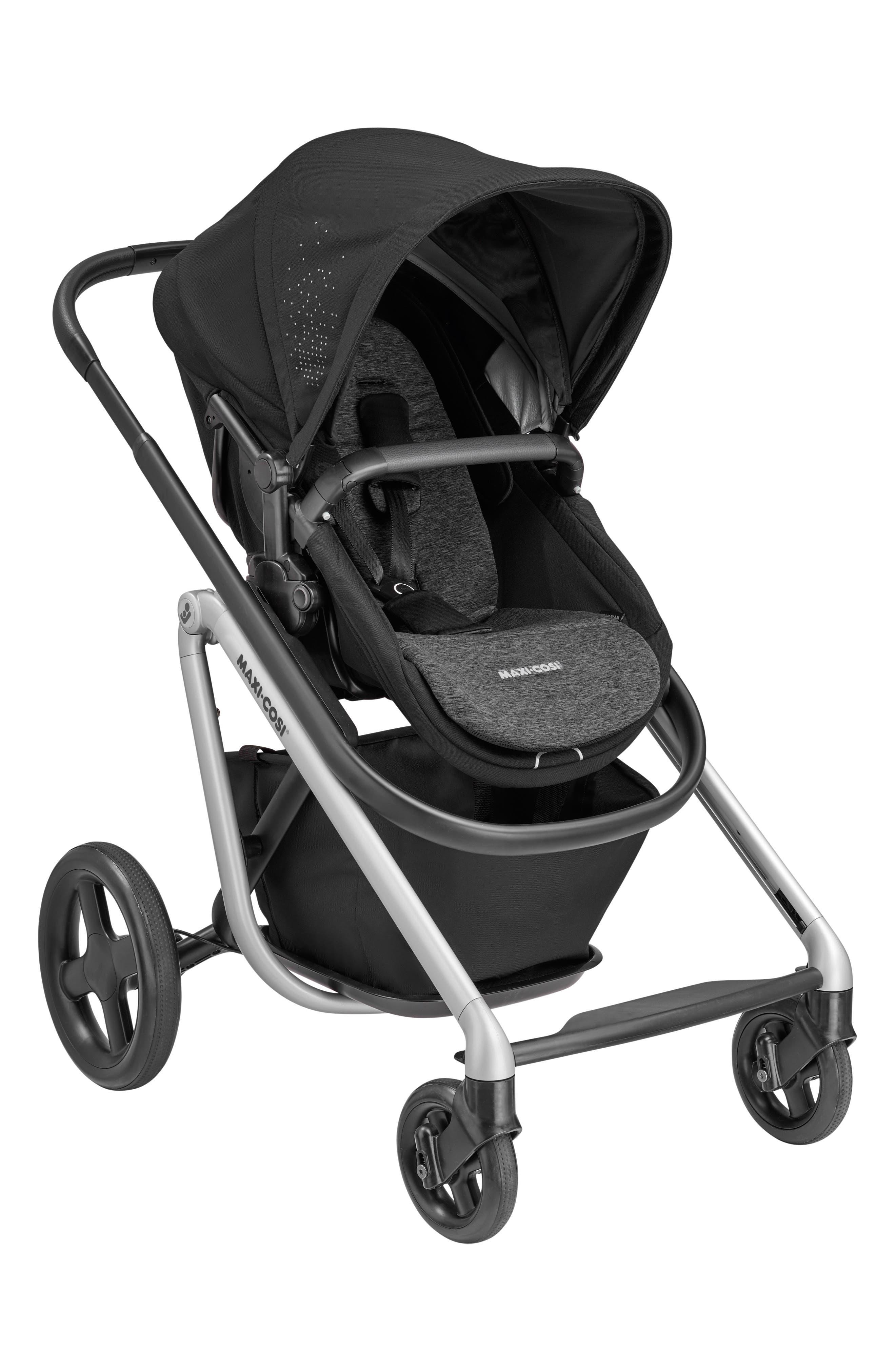 ,                             Lila Modular Stroller,                             Main thumbnail 1, color,                             NOMAD BLACK