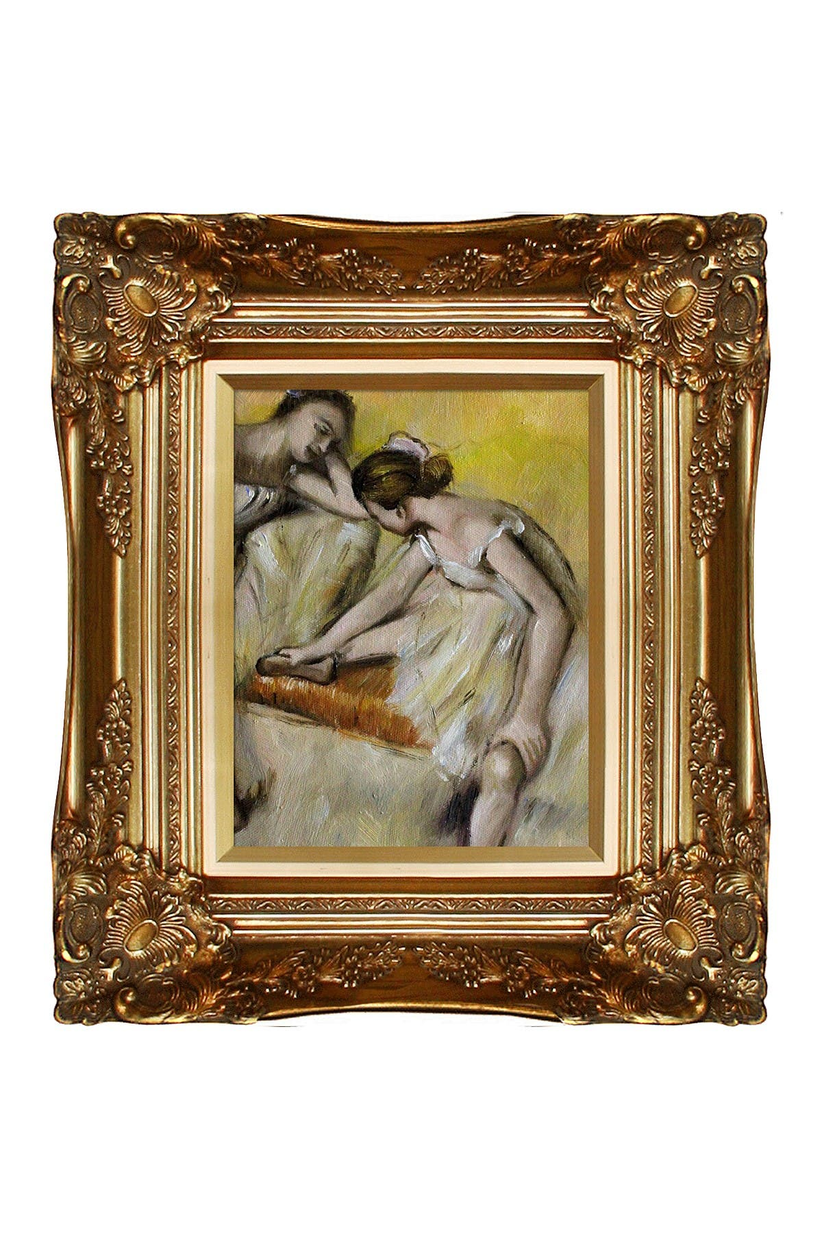 Overstock Art Dancers in Repose with Victorian Gold Frame, 16\\\