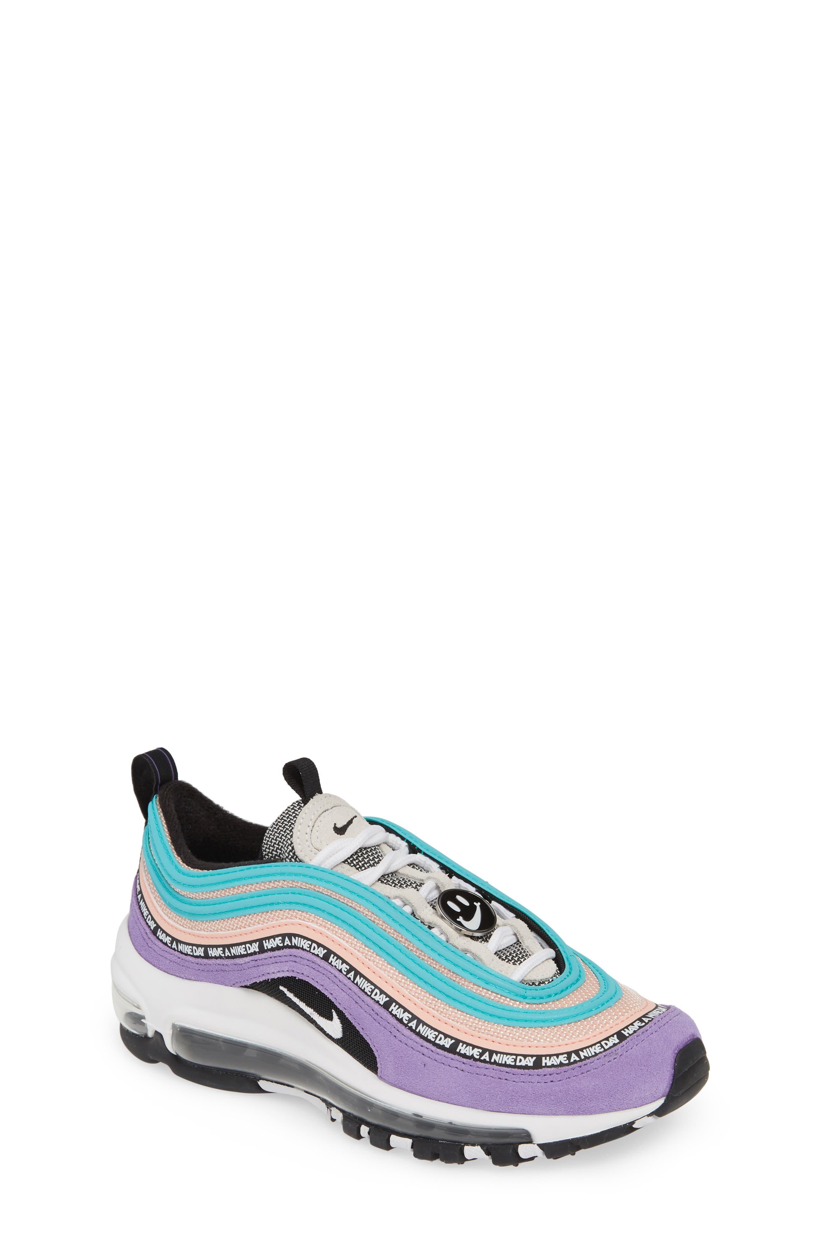 ,                             Air Max 97 SE Have a Nike Day Sneaker,                             Main thumbnail 1, color,                             500