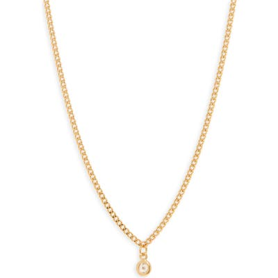 Nordstrom Dainty Curb Chain Necklace
