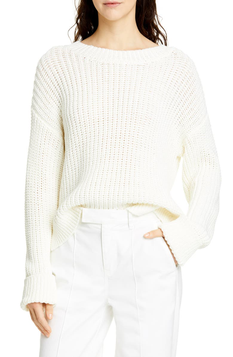 ALEX MILL Solid Sweater, Main, color, 250