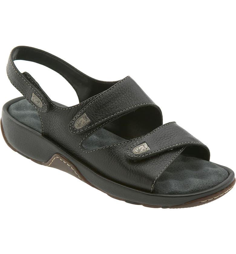 SOFTWALK<SUP>®</SUP> 'Bolivia' Sandal, Main, color, BLACK